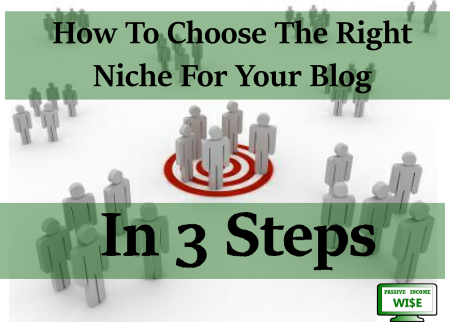 niche site 3 steps passive income