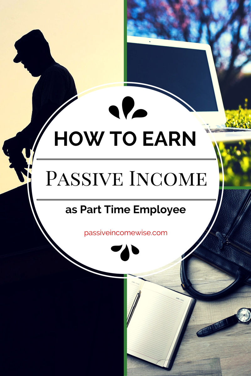 part time passive income