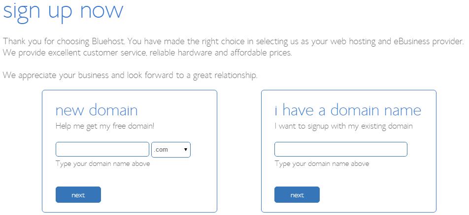 step 3 - register domain name