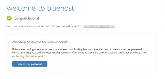 step 7 - set up password