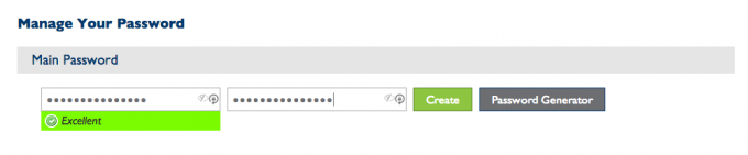 step 8 - generate password