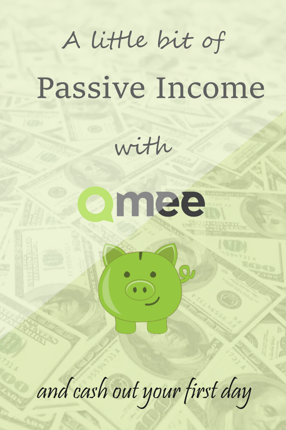 A little bit of Passive Income with Qmee