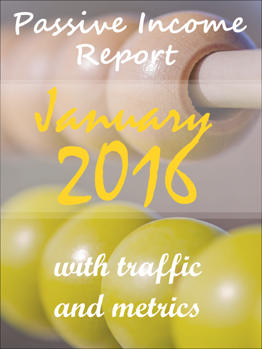 passive income report 2016 january