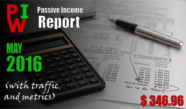 monthly income report may 2016