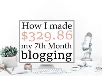 how I made money blogging march 2016