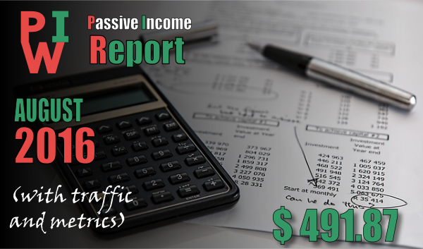 monthly income report august 2016