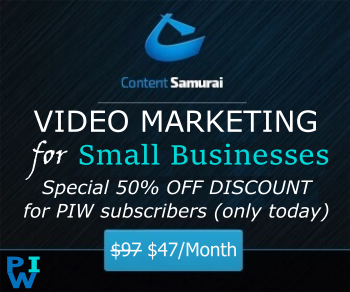 content samurai 50% discount
