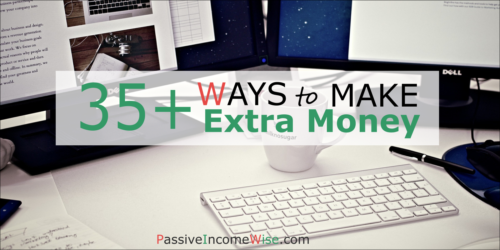 35 ways to make extra money