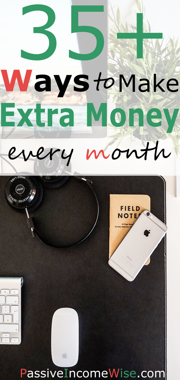 35 ways make extra income