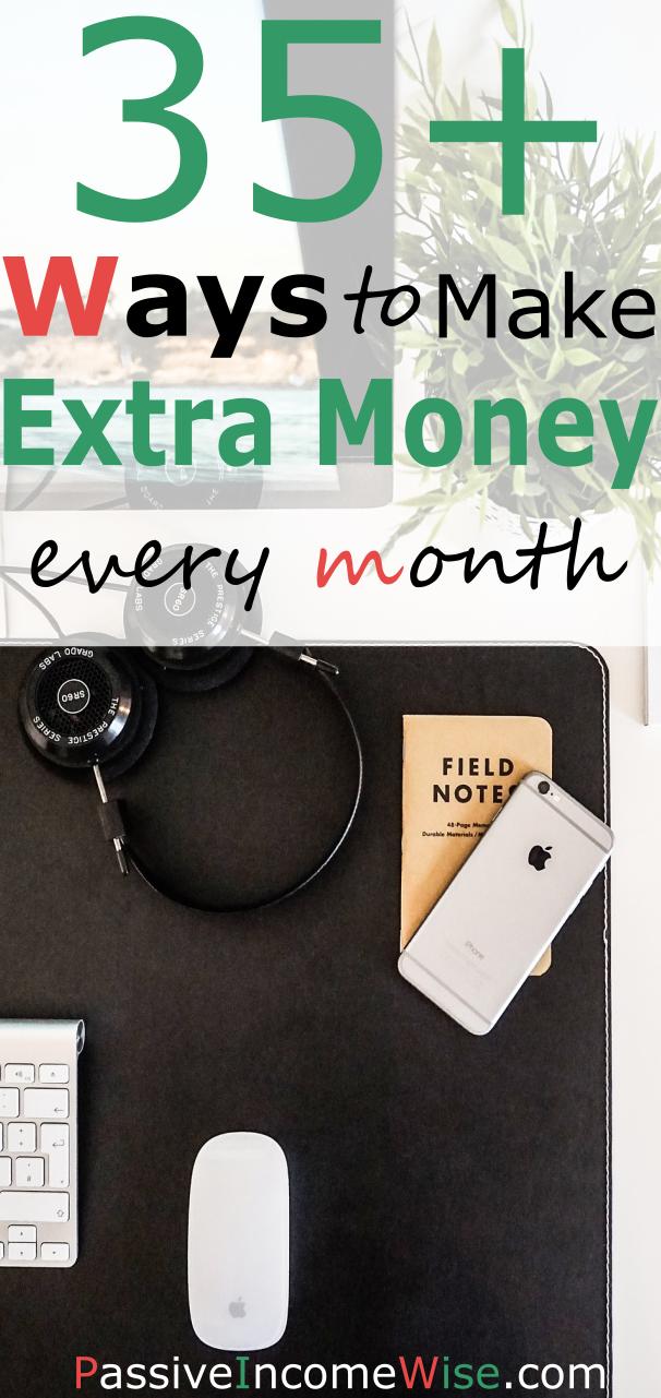 35 ways make extra income