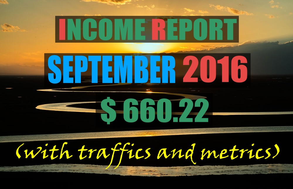 income report september 2016