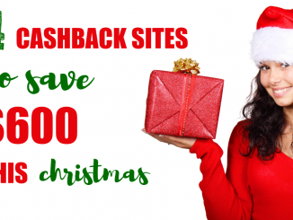 save money christmas, earn cashback, ebates, christmas gifts, how to save money, get money back