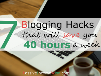 blogging tips save time