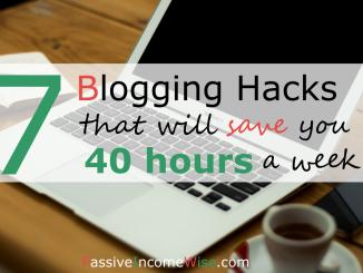 blogging tips save time