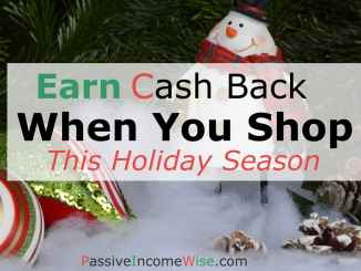 earn cash back when you shop chritsmas
