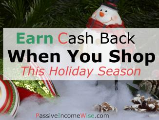 earn cash back when you shop chritsmas