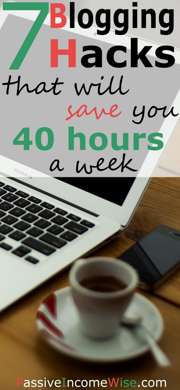 blogging hacks save time