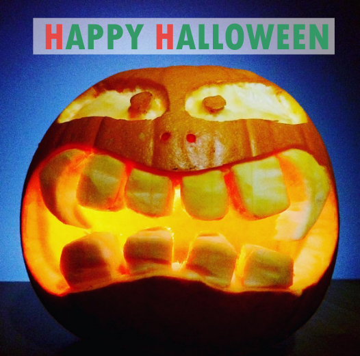 happy hallooween pumpkin