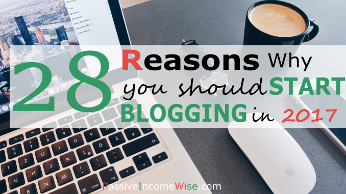 why start blogging