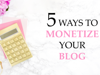 How to monetize a blog, Get paid to blog, Affiliate income, Paid advertising, How to make money blogging, Write a book online, Sponsored post, Create a course