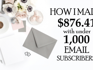 Make money with email marketing, how to create an email list, get email subscribers, email marketing software, convertkit