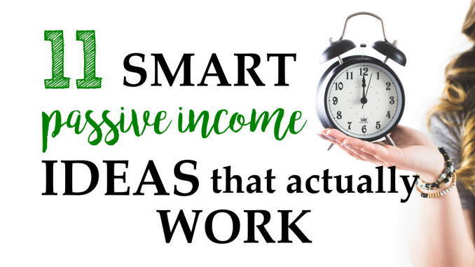 How to make passive income, make money while you sleep, work from home jobs, passive income ideas, create online courses