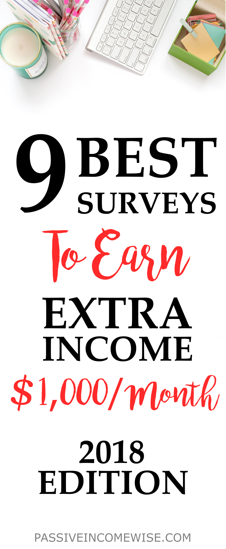 9 Best Paid Survey Sites to Make Money in 2018 - Passive