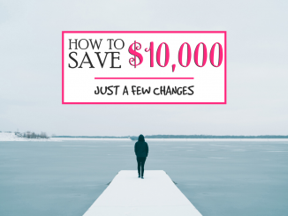 how to save money, how to save $10000, Get a Part Time Job