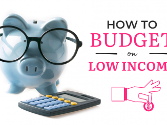 How to Budget Money on Low Income, monthly budget plan free printable
